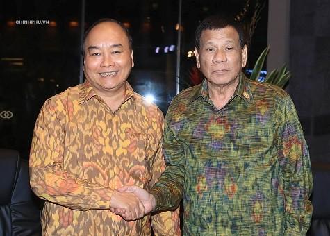 Việt Nam-Philippines: Sớm hoàn thiện Chương trình hành động giai đoạn 2018-2023