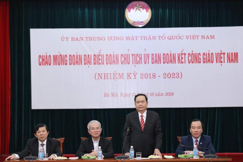 Đồng bào Công giáo Việt Nam góp sức xây dựng khối đại đoàn kết toàn dân tộc