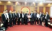 Đoàn đại biểu cấp cao Thủ đô Viêng Chăn, Lào thăm và làm việc tại Long Biên