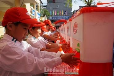Phát động Ngày 'Thế giới rửa tay với xà phòng' góp phần nâng cao sức khỏe