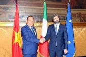 Phó Thủ tướng Thường trực Chính phủ Trương Hòa Bình gặp Chủ tịch Hạ viện Italia