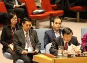 Việt Nam tham dự Phiên thảo luận mở của Hội đồng Bảo an Liên hợp quốc