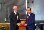 Phó Thủ tướng Trương Hòa Bình gặp lãnh đạo Hội đồng Tư pháp quốc gia Italia