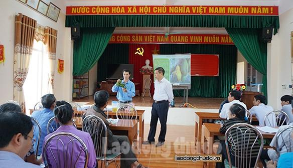 Huyện Phú Xuyên: Đẩy mạnh tuyên truyền, tư vấn nghề nghiệp cho lao động nông thôn