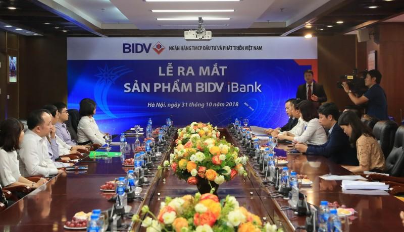 BIDV ra mắt dịch vụ Ngân hàng điện tử BIDV iBank