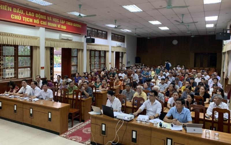 Quận Long Biên: Lấy ý kiến người dân về Dự án xây dựng tuyến đường mới
