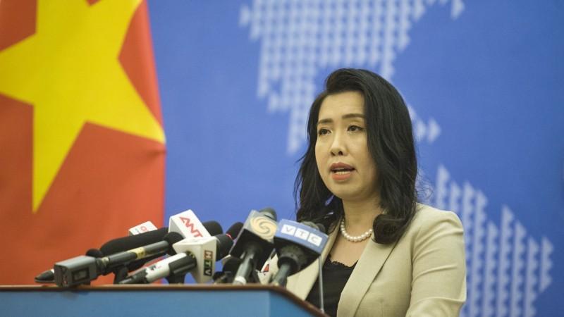 Yêu cầu Trung Quốc rút toàn bộ nhóm tàu khảo sát ra khỏi vùng biển Việt Nam