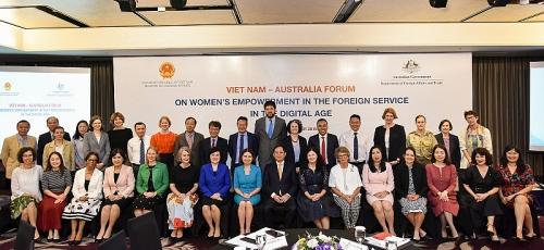 Phát huy vai trò phụ nữ trên lĩnh vực đối ngoại trong kỷ nguyên số
