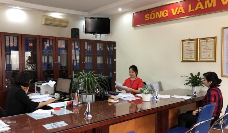 Tỷ lệ hồ sơ được giải quyết đúng hạn tại quận Long Biên đạt 100%