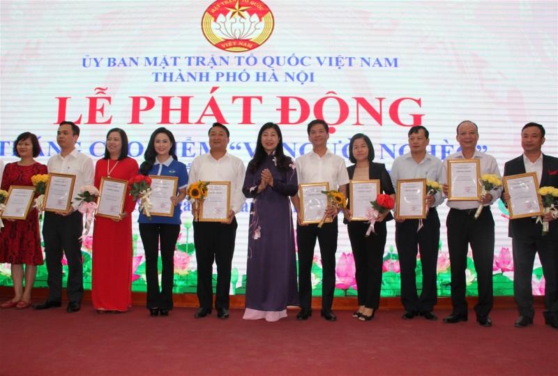 """Thành phố Hà Nội phát động Tháng cao điểm """"Vì người nghèo"""" năm 2019"""