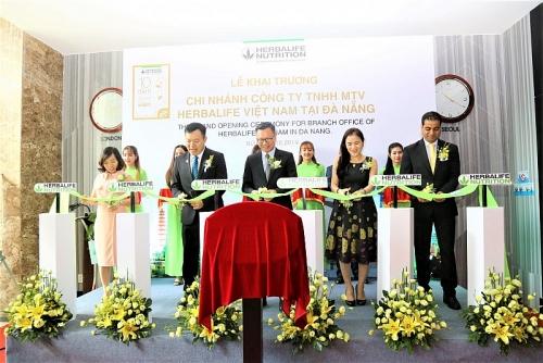 Herbalife Nutrition khai trương văn phòng thứ ba tại Việt Nam