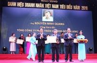 """Tổng Giám đốc Tổng Công ty UDIC được vinh danh """"Doanh nhân Việt Nam tiêu biểu"""" năm 2019"""