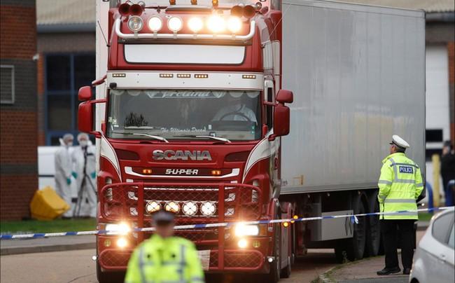 Cập nhật thông tin liên quan đến 39 nạn nhân được phát hiện tử vong tại Anh