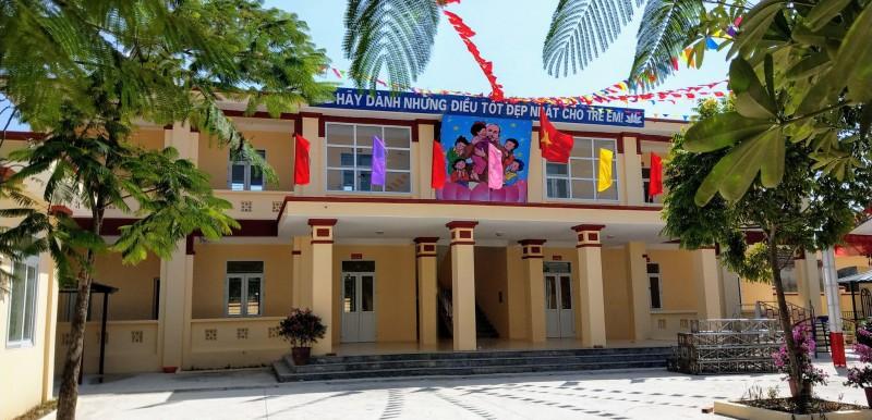 Khánh thành trường mầm non chuẩn quốc gia tại Ninh Bình