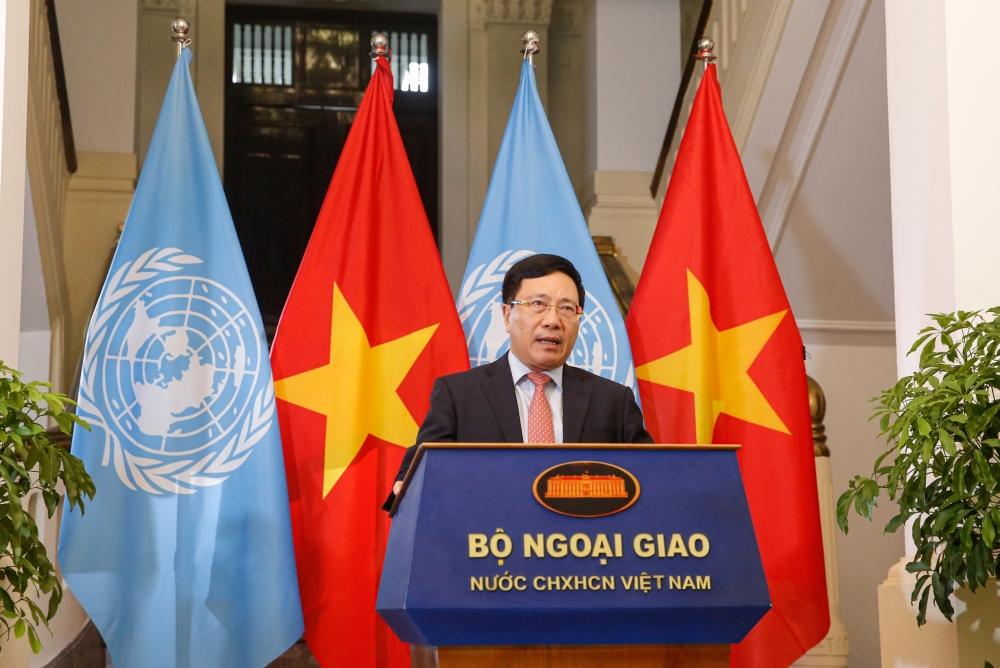 Thông điệp của Phó Thủ tướng Phạm Bình Minh gửi Phiên họp cấp cao Liên hợp quốc