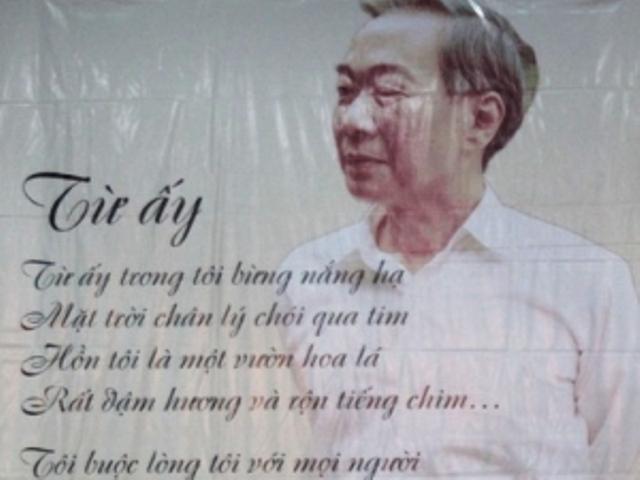 Tố Hữu - nhà thơ lớn có công khai sáng nền văn học cách mạng Việt Nam