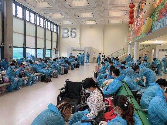 2 chuyến bay đưa công dân Việt Nam từ Đài Loan về nước