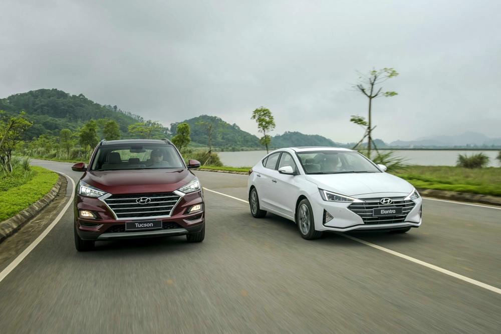 Hyundai Tucson và Hyundai Santa Fe bứt phá ngoạn mục trong tháng 9