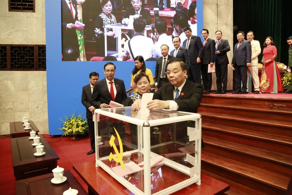 4 đồng chí trúng cử Phó Bí thư Thành ủy Hà Nội, nhiệm kỳ 2020-2025