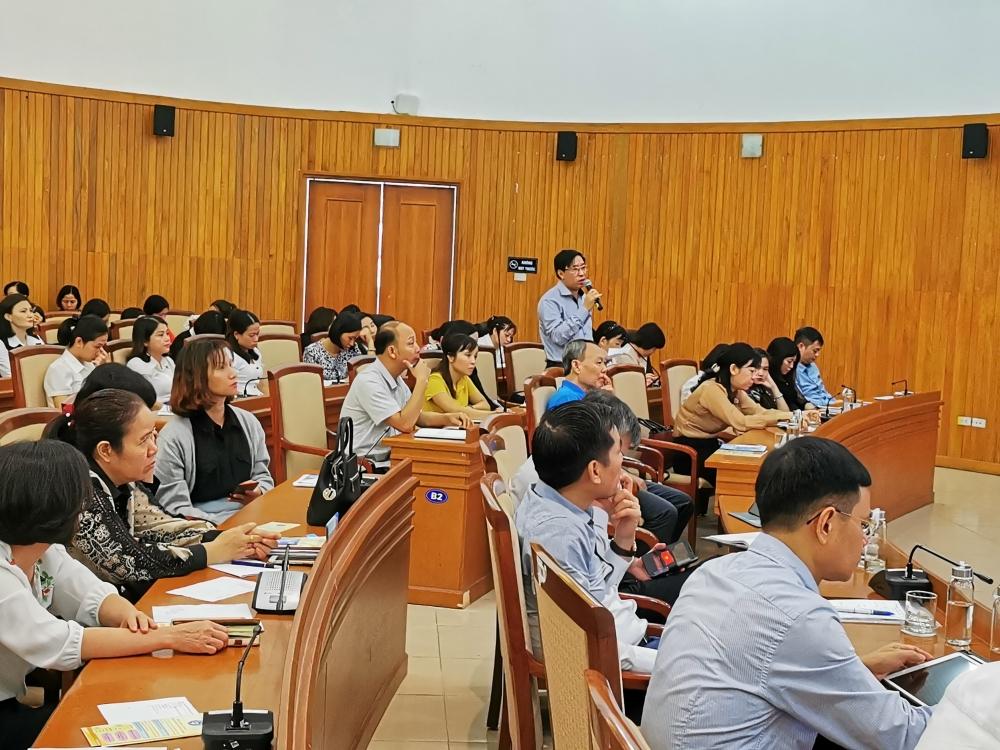 Quận Long Biên: Đối thoại về chính sách pháp luật lao động, công đoàn, bảo hiểm xã hội