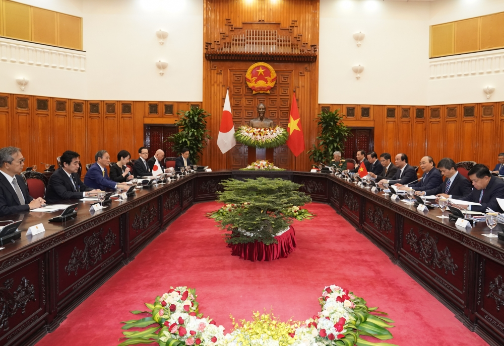 Việt Nam - Nhật Bản: Trao đổi 12 văn kiện hợp tác với tổng trị giá gần 4 tỷ USD