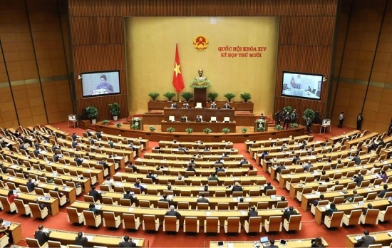 Chính thức khai mạc Kỳ họp thứ 10, Quốc hội khóa XIV