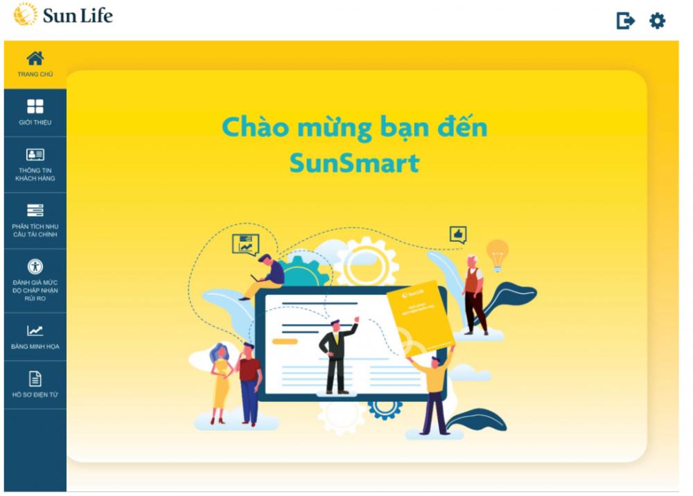 Ra mắt ứng dụng SunSmart - công cụ tư vấn và nộp hồ sơ yêu cầu bảo hiểm trực tuyến