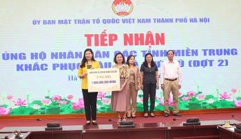 Tiếp nhận thêm hơn 14,2 tỷ đồng ủng hộ nhân dân các tỉnh miền Trung