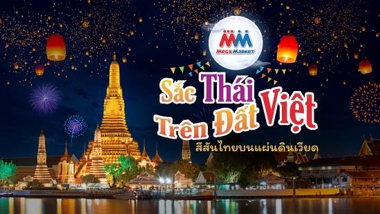 """Trải nghiệm văn hóa, ẩm thực của đất nước chùa vàng tại """"Sắc Thái trên đất Việt"""""""