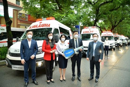 Hà Nội tiếp nhận và chuyển giao trang thiết bị y tế trị giá 84 tỷ đồng phục vụ phòng, chống dịch