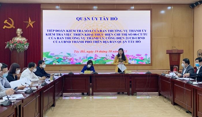 Đề cao trách nhiệm của người đứng đầu chính quyền các phường trong phòng, chống dịch