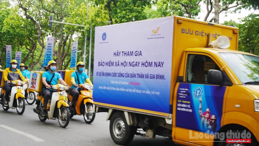 Hà Nội: 3 tháng cuối năm, phấn đấu mỗi xã/phường/thị trấn có 60 người tham gia BHXH tự nguyện