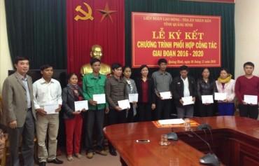 LĐLĐ TP Hà Nội ủng hộ hơn 1,5 tỉ đồng tới đồng bào miền Trung