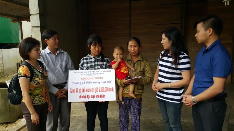 Hội kiều bào Việt Nam tại Hàn Quốc hướng về đồng bào vùng lũ