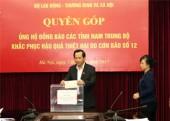 Bộ LĐTBXH phát động ủng hộ đồng bào các tỉnh Nam Trung Bộ