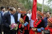 Thủ tướng Nguyễn Xuân Phúc dự ngày hội đại đoàn kết tại Bắc Kạn