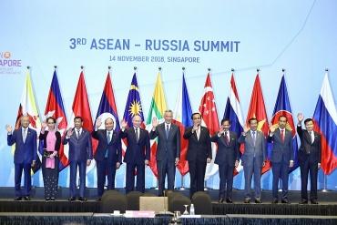 Thủ tướng Nguyễn Xuân Phúc dự Hội nghị Cấp cao ASEAN-Nga lần thứ 3