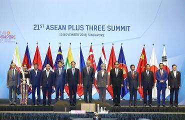 Thủ tướng Chính phủ Nguyễn Xuân Phúc dự Hội nghị Cấp cao ASEAN + 3