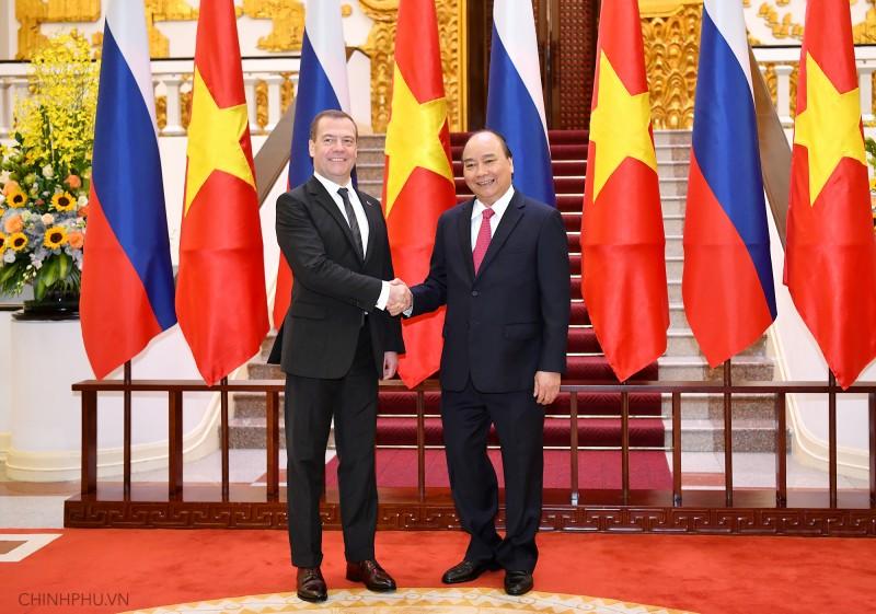 Phấn đấu nâng kim ngạch thương mại Việt - Nga lên 10 tỷ USD vào năm 2020