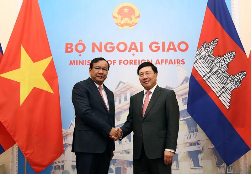 Chính phủ Campuchia sẽ tạo điều kiện thuận lợi cho doanh nghiệp Việt Nam