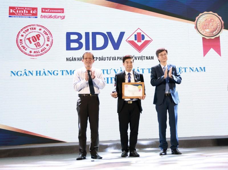 """BIDV SmartBanking được vinh danh tại """"Tin & Dùng Việt Nam 2018"""""""