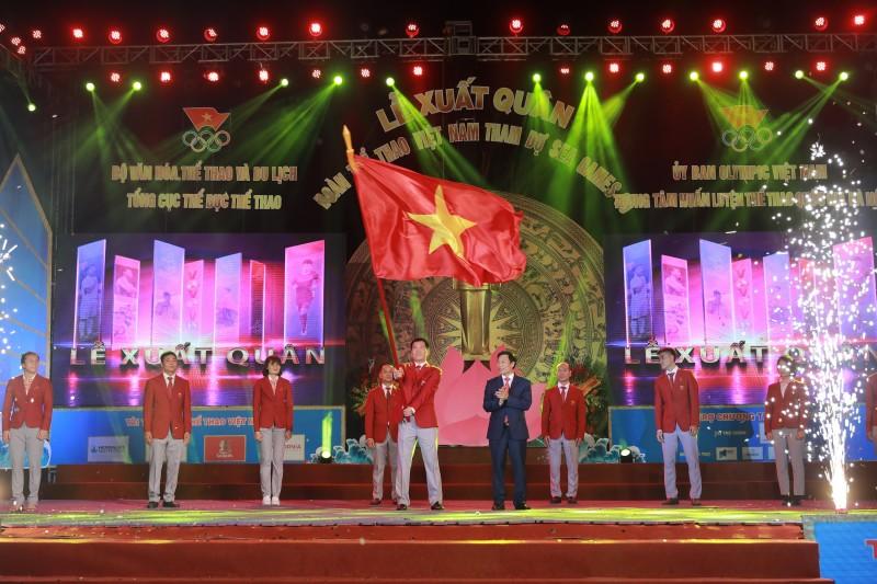 856 vận động viên và huấn luyện viên Việt Nam tham dự SEA Games 30