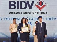 """Dịch vụ Thu hộ học phí của BIDV vào Top 10 """"Tin và Dùng"""" 2019"""