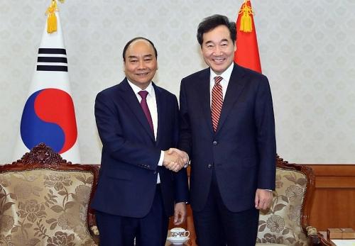Việt Nam - Hàn Quốc: Phấn đấu đạt kim ngạch thương mại song phương 100 tỷ USD
