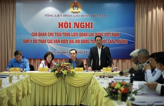 Các văn kiện cần thể hiện đậm nét tư tưởng Hồ Chí Minh về công nhân, Công đoàn