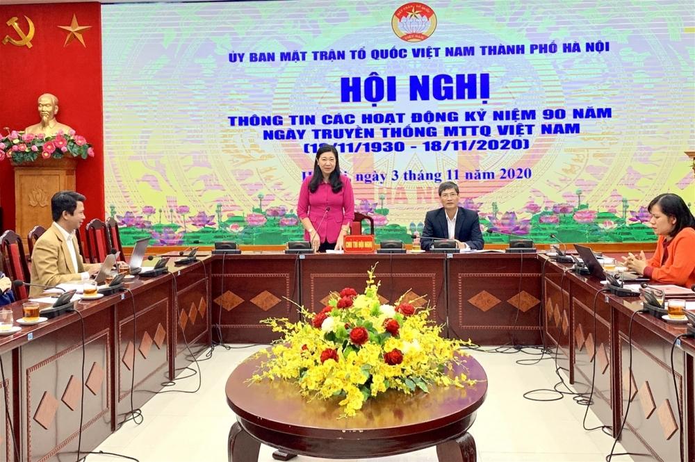 Hà Nội: Nhiều hoạt động ý nghĩa kỷ niệm 90 năm Ngày truyền thống Mặt trận Tổ quốc Việt Nam