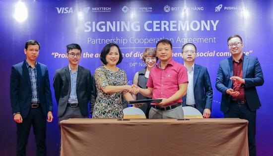 Visa và NextTech hợp tác thúc đẩy thanh toán số trên các nền tảng thương mại điện tử