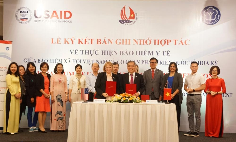 Bảo hiểm xã hội Việt Nam và Cơ quan Phát triển Quốc tế Hoa Kỳ hợp tác về bảo hiểm y tế