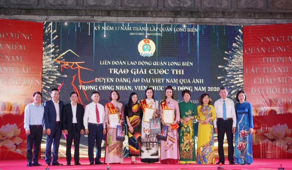"""Ấn tượng đêm Gala trao giải Cuộc thi """"Duyên dáng áo dài Việt Nam qua ảnh"""""""