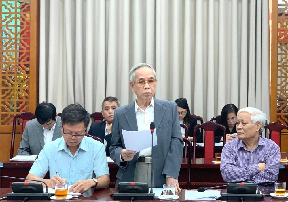 Ủy ban Mặt trận Tổ quốc thành phố Hà Nội lấy ý kiến góp ý dự thảo văn kiện Đại hội Đảng